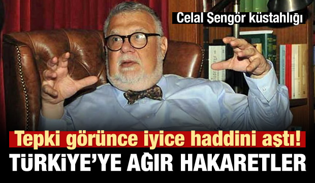 Celal Şengör'den Türkiye'ye hakaret!