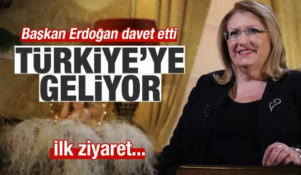 Erdoğan davet etti, Marie Louise Coleiro Preca Türkiye'ye geliyor