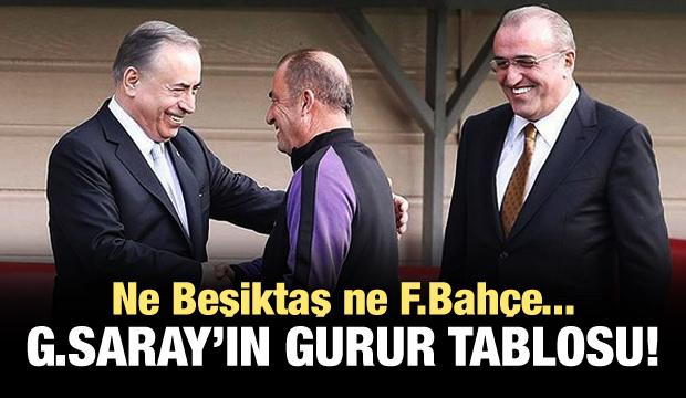 Galatasaray'ın gurur tablosu!