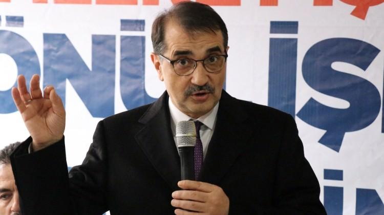 Bakan Dönmez'den doğalgaz açıklaması: Kaynağa yaklaştık