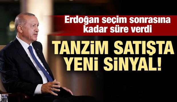 Erdoğan: Seçim sonrası bu iş çözüldü çözüldü, aksi halde...