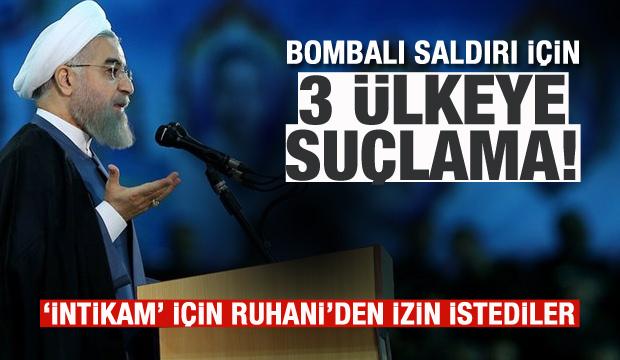 İran'dan bombalı saldırı için üç ülkeye suçlama!