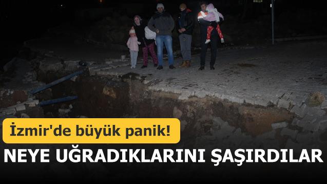 İzmir'de büyük panik! Neye uğradıklarını şaşırdılar