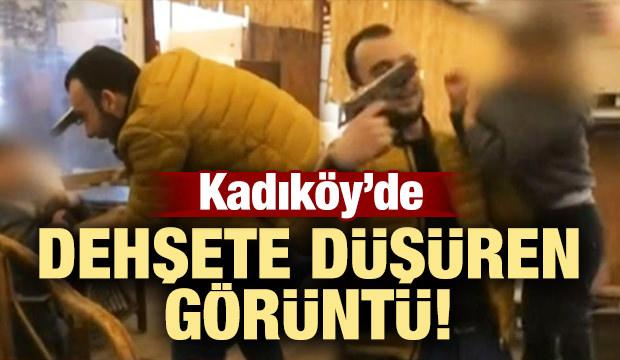 Kadıköy'de dehşete düşüren görüntü!