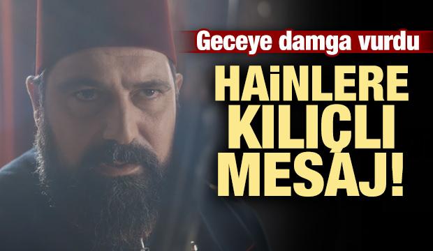 Sultan Abdülhamid'den hainlere kılıçlı mesaj!