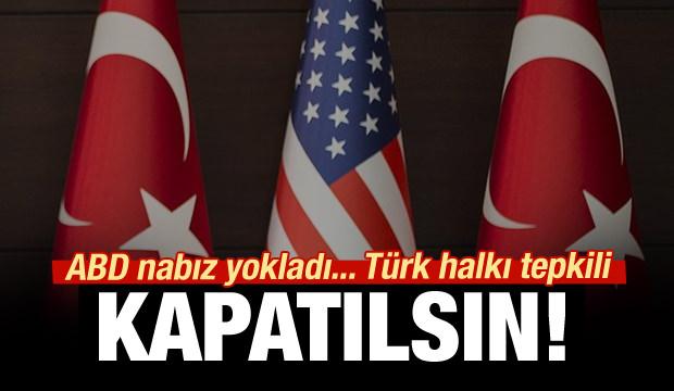 Türk halkı tepkili: İncirlik kapatılsın!