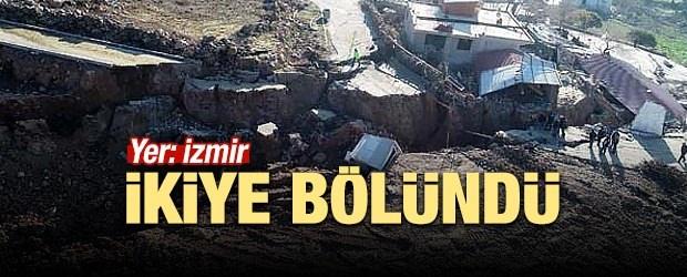 Yer: İzmir... İkiye bölündü