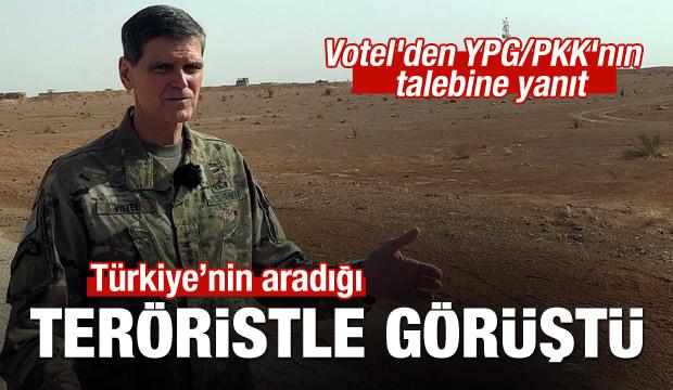 ABD'li komutan aranan PKK'lı terörist ile görüştü