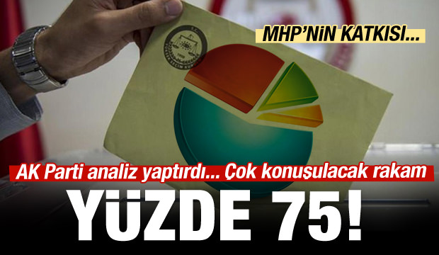 AK Parti'den ilginç seçmen analizi
