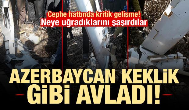 Azerbaycan keklik gibi avladı, Ermenistan neye uğradığını şaşırdı!