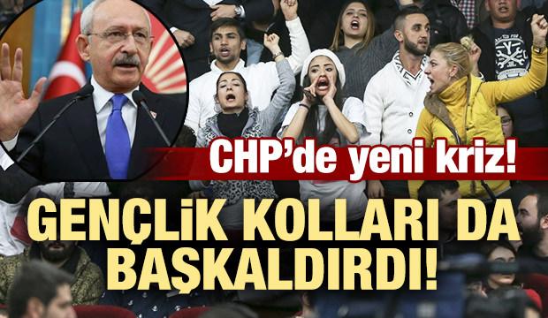 CHP Gençlik Kolları genel merkeze karşı ayaklandı