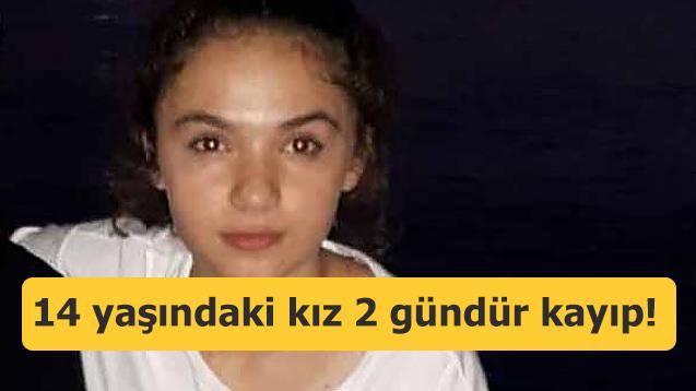 14 yaşındaki kızdan 2 gündür haber alınamıyor!
