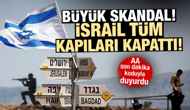 İsrail'den büyük skandal! Mescid-i Aksa'nın tüm kapıları kapatıldı