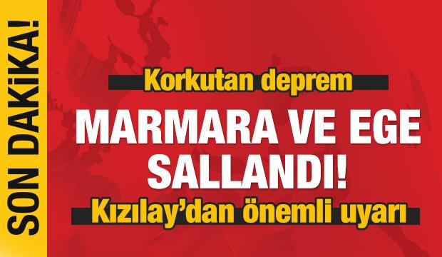 Marmara ve Ege sallandı