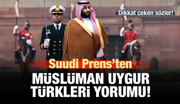 Suudi Prens Bin Selman'dan Uygur Türkleri yorumu