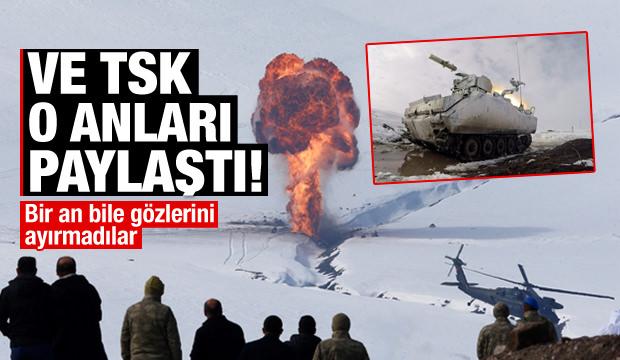 Türk Silahlı Kuvvetleri'nden nefes kesen Kış 2019 tatbikatı