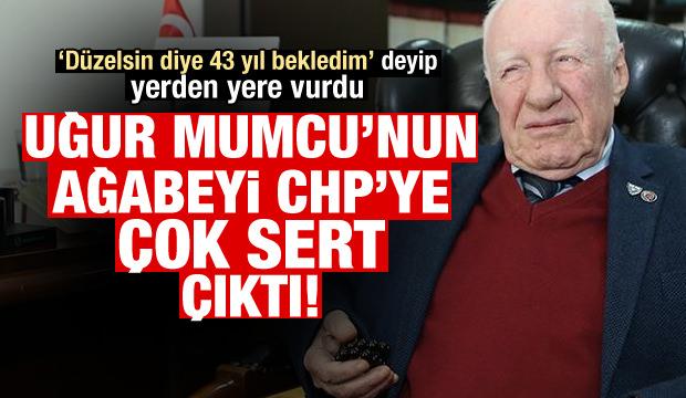 Uğur Mumcu'nun ağabeyi, CHP'yi yerden yere vurdu!