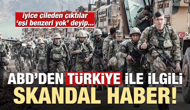 ABD'den Türkiye ile ilgili skandal haber!
