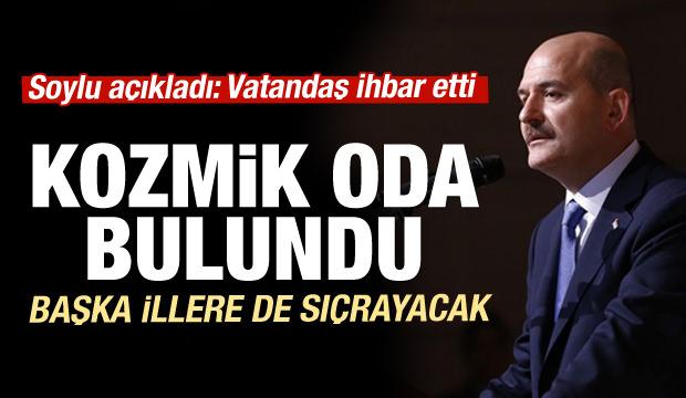 Bakan Soylu açıkladı: HDP'nin kozmik odası bulundu