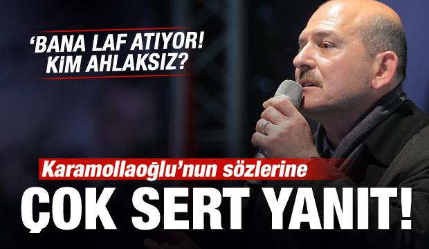 Bakan Soylu'dan Karamollaoğlu'na sert yanıt