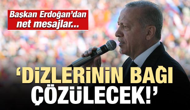 Başkan Erdoğan: Dizlerinin bağı çözülecek...
