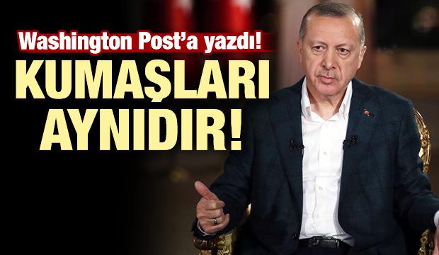 Başkan Erdoğan: 'Yeni Zelanda teröristi ve DEAŞ'ın kumaşı aynıdır