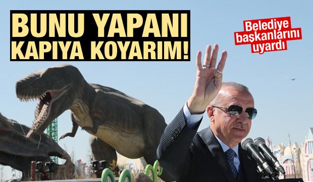 Cumhurbaşkanı Erdoğan: Bunu yapanı kapıya koyarım