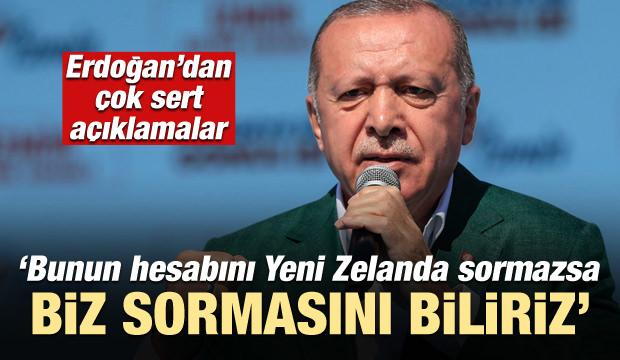 Cumhurbaşkanı Erdoğan: Bunun hesabını sorarız