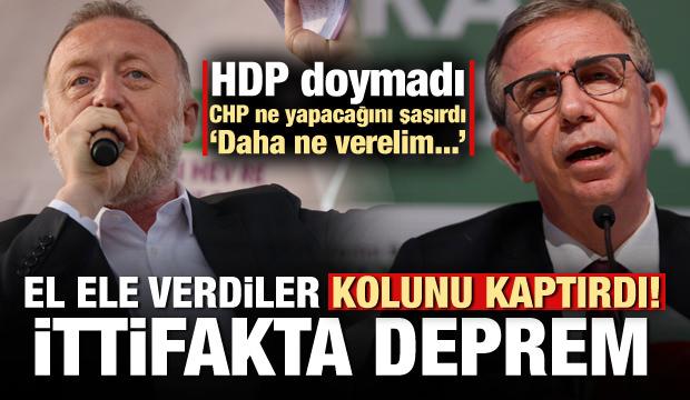 El ele verdiler kolunu kaptırdı! HDP doymadı meğer...