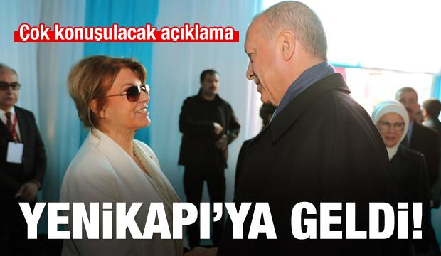 Eski Başbakan Çiller Yenikapı'da