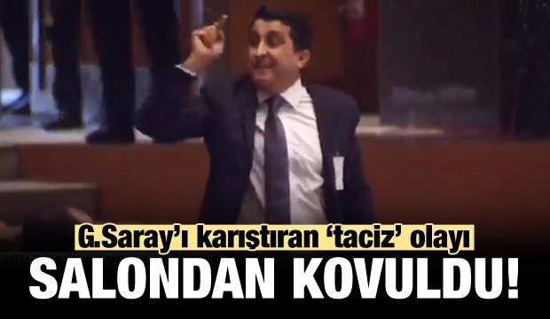 Galatasaray'ı karıştıran 'taciz' olayı!