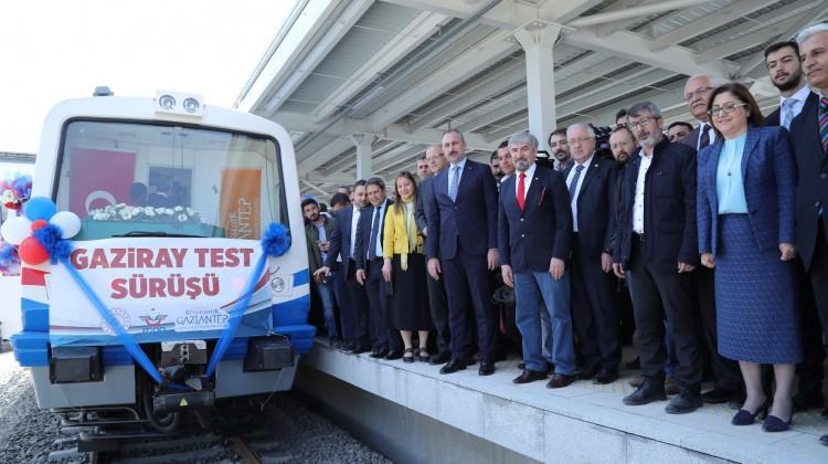 GAZİRAY'da test sürüşleri başladı