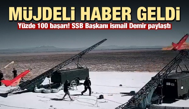 İsmail Demir müjdeli haberi paylaştı! Hava savunma...
