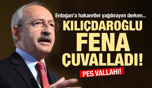 Kılıçdaroğlu yine fena çuvalladı!