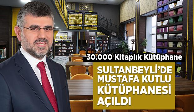 Mustafa Kutlu Kütüphanesi Açıldı