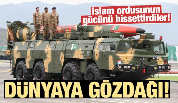 İslam ordusunun gücünü hissettirdiler!