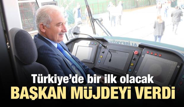 Türkiye'de bir ilk! Uysal müjdeyi verdi