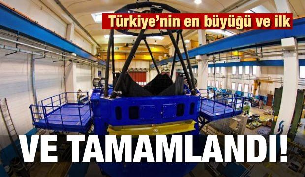 Ve tamamlandı! Türkiye'nin en büyüğü ve ilk...
