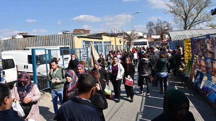 Alışveriş için Edirne'ye akın ettiler