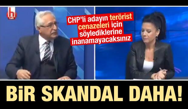 CHP'li adaydan skandal sözler: Terörist cenazesine katılmak insani...