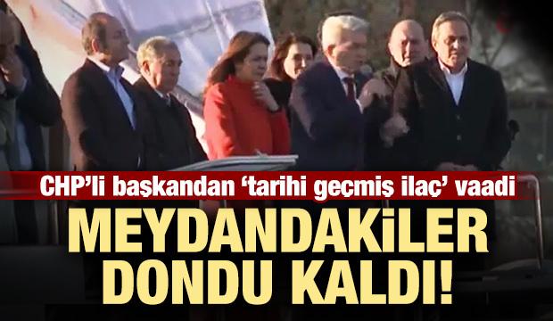 CHP'li belediye başkan adayından şaşırtan vaat