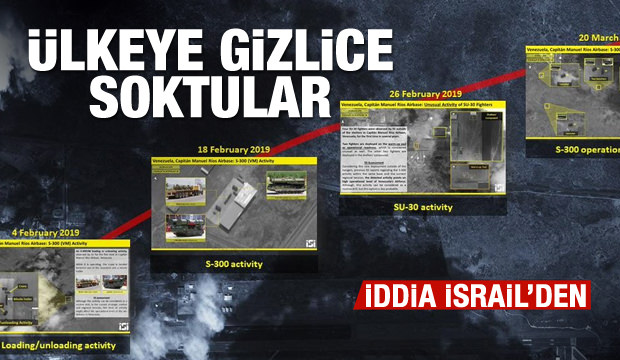 İsrailli şirketin iddiası: Gizlice S-300 füzesi denediler