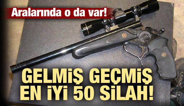 İşte gelmiş geçmiş üretilen en iyi 50 silah...