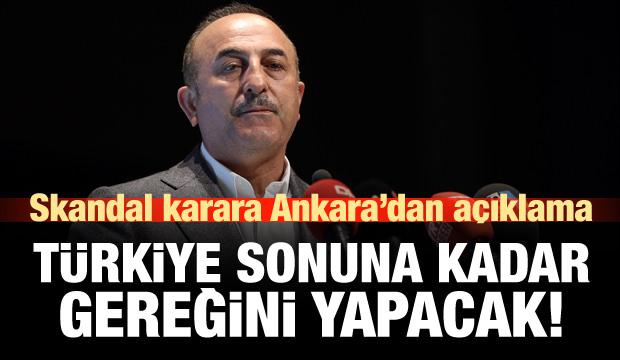 Trump'ın imzası sonrası Ankara'dan açıklama!