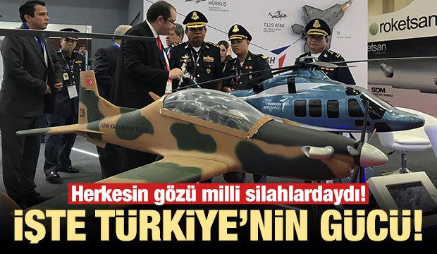 Türk savunma sanayisi Asya'da şov yaptı!