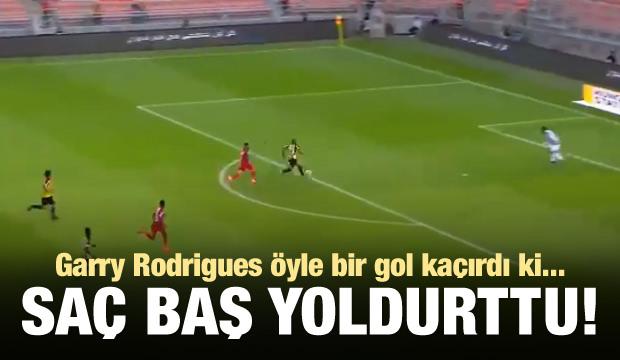 Garry Rodrigues öyle bir gol kaçırdı ki...