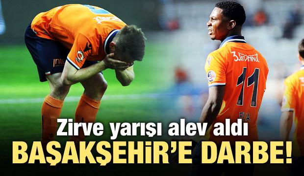Lider Başakşehir'e darbe! Zirve yarışı alev aldı