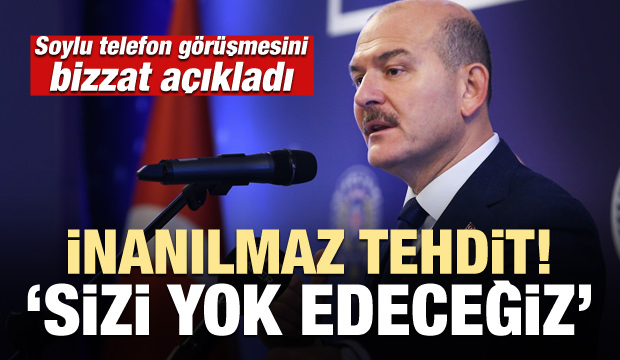 CHP Genel Başkanvekili Soylu'yu tehdit etti