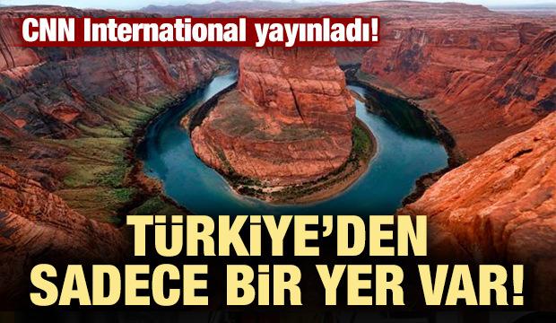 Liste yayınlandı! Türkiye'den sadece bir yer var!