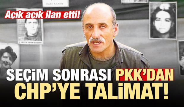 Seçim sonrası PKK'dan CHP'ye talimat!: Açık açık ilan edin